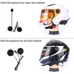 Image 4 - Fodsports V6 Pro Intercom Motorcycle Wireless Bluetooth Intercom Helmet Headset 6 Rider 1200M Moto BT Interphone