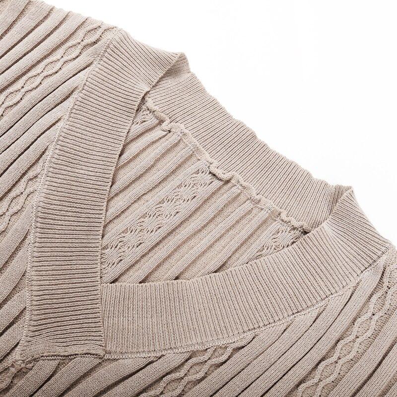 Купить pgsd новый осенне зимний однотонный вязаный свитер повседневный