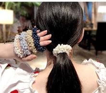 Модные женские и веревочки для волос с жемчужинами бусинами