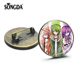 SONGDA 2019 Japanese Anime Akame Ga Kill Brooches Mine Lubbock Sheele Cosplay Badges Akame Brooch Pins Backpack Clothes Decorate(China)