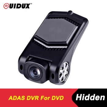 QUIDUX USB Dash cam FHD 1080P ADAS dvr kamera camera LDWS G-Sensor PIP car video recorders for Android 4.4 DVD Multimedia player image