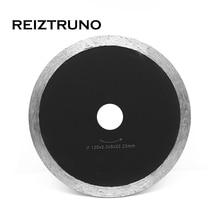 REIZTRUNO 5 дюймов общего назначения, мокрый кафель лезвия со сплошной кромкой алмазные для болгарки-гранит мраморный камень резки инструменты