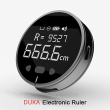 XiaomiMijia DUKA Righello Elettronico Ricaricabile 8 Funzioni Telemetro Portatile HD LCD Schermo Lungo Standbuy Multifunzione righello