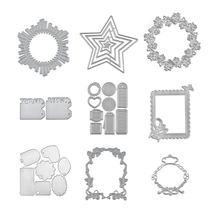 Геометрические формы yaminsannio режущие штампы рамка металлические