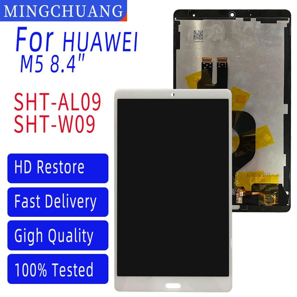 8.4 Polegada para huawei mediapad m5 8.4 SHT-AL09 SHT-W09 display lcd touch screen assembléia substituição tablet pc painel sensor de vidro