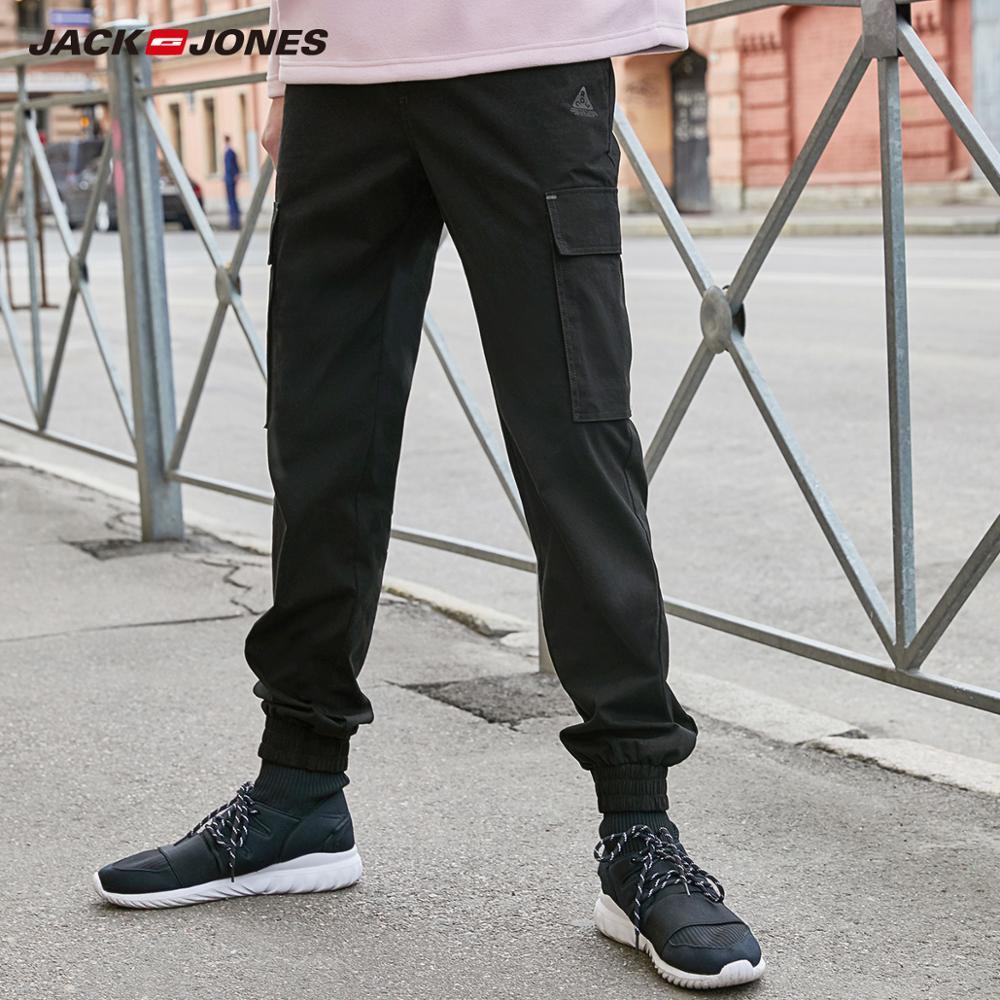 JackJones Men's Cargo Stretch Casual Pants Fashion Hiphop Menswear 219314539