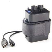 6 seção 18650 caixa de bateria 18650 bateria pacote 5vusb/8.4vdc relação dupla 18650 caixa de bateria à prova dwaterproof água