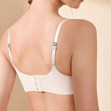 GUMPRUN Sexy Lingerie Seamless Bras For Women Adjust Wireless Push Up Bra Comfortable Soft Underwear Brassiere Ladies Bralette