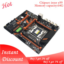 X99 Mainboard Motherboard-Module Computer Desktop DDR4 Professional Random-Color 4-Channel