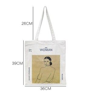 Image 2 - Youda orijinal basit kadın çantası zarif kanvas çanta moda bayan omuz çantaları rahat alışveriş Tote sevimli kız çanta
