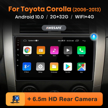 AWESAFE PX9 für Toyota Corolla 2006-2013 Auto Radio Multimedia video player GPS Keine 2din 2 din Android 9,0 2GB + 32GB