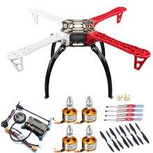 Oferta especial f450 450 quadcopter multicopter quadro kit apm 2.8 7m gps shock absorber módulo de potência a2212 motor 30a sichide esc