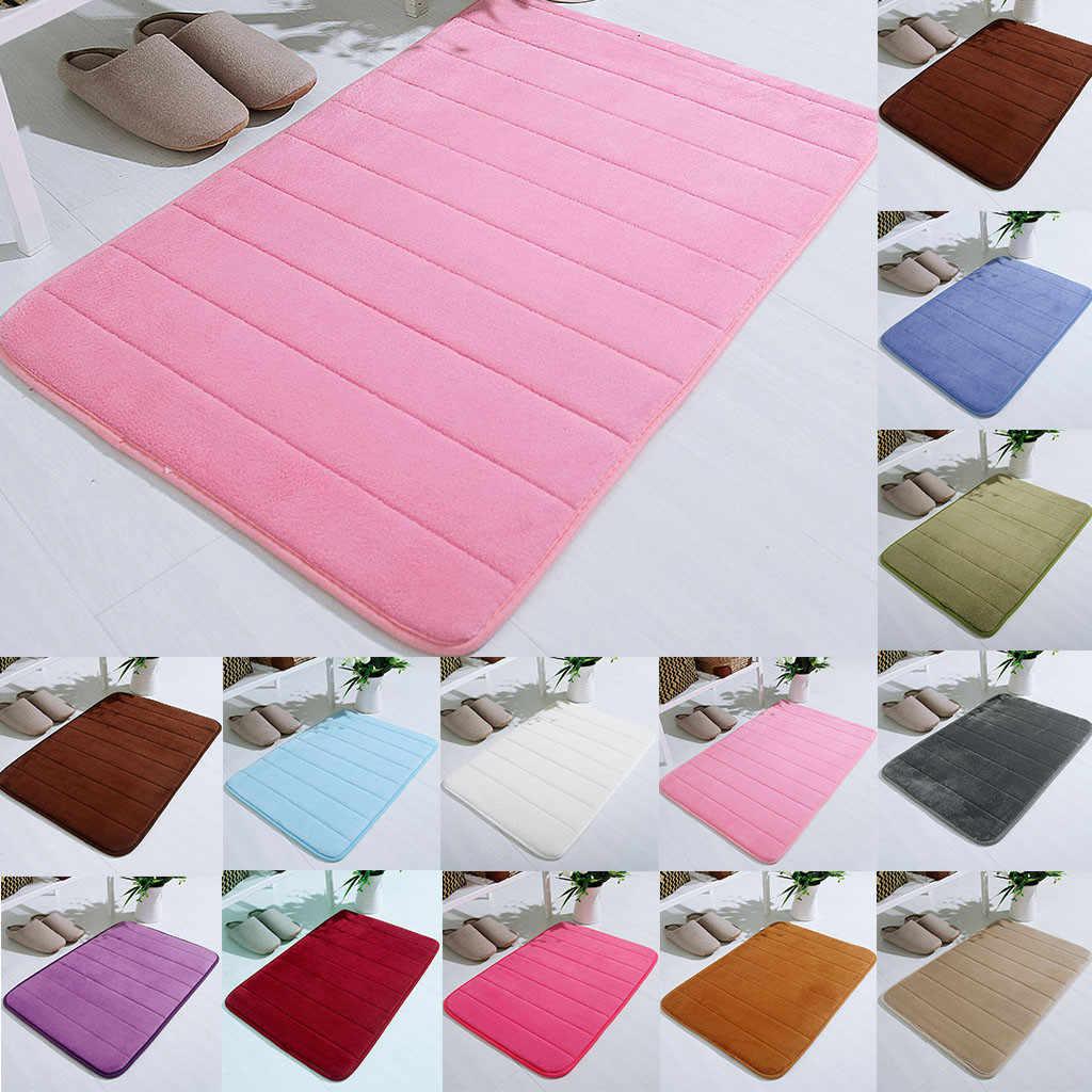 Alfombra de baño súper absorbente, alfombras de baño, Alfombra de espuma con memoria blanda, alfombrilla para el suelo, baño, dormitorio, baño, ducha, alfombra decorativa