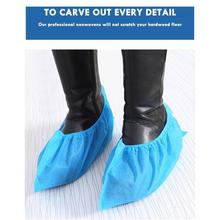 100pcs Thickening Non-woven Shoe Cover Non-slip Shoe Cover Shoe Covers Disposable Non Slip Shoes Cover Bootie cheap