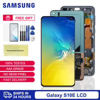 Original 5.8'' Display For Samsung Galaxy S10e SM G970F/DS G970 LCD Display Touch Screen Digitizer Assembly Replacement Parts