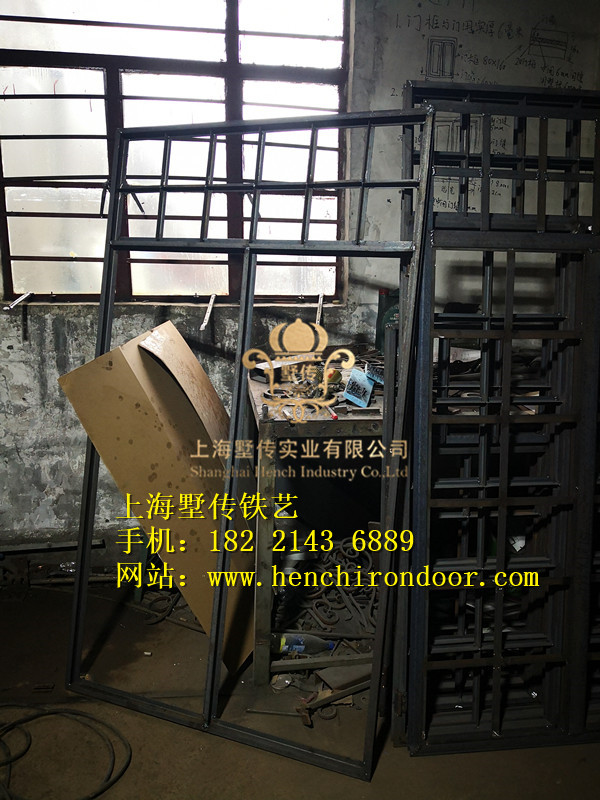 Hench 100% Factory Wholesale Front Door With Frame For Sale