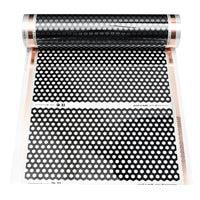 50 см * 2 м инфракрасный теплый пол нагревательная пленка 220 Вт Электрический высококачественный углеродное волокно Электрический нагревате...