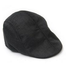 Hat Cap Womens Fashion Linen And Flat Beret-Hat Driving Travel-Caps Boina Duckbill Newsboy