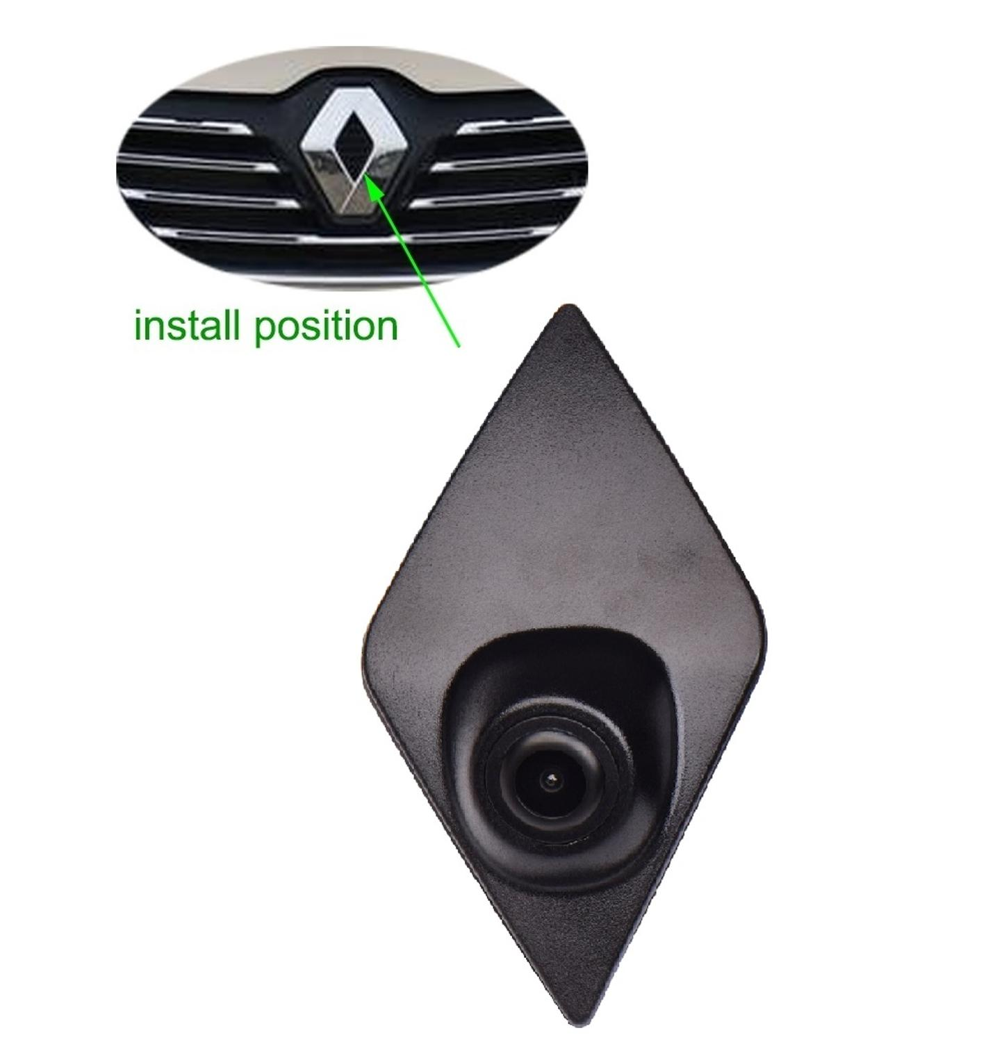 Front View Camera For Renault ESPACE Koleos Fluence Duster Megane Latitude