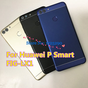 Image 1 - New For Huawei P Smart FIG LX1 FIG LA1 FIG LX2 FIG LX3 Rear Back Battery Housing Door Cover Case 5.6""