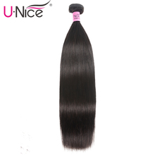 Unice Hair Straight Brazilian Hair Weave Bundles 1 Bundle 10