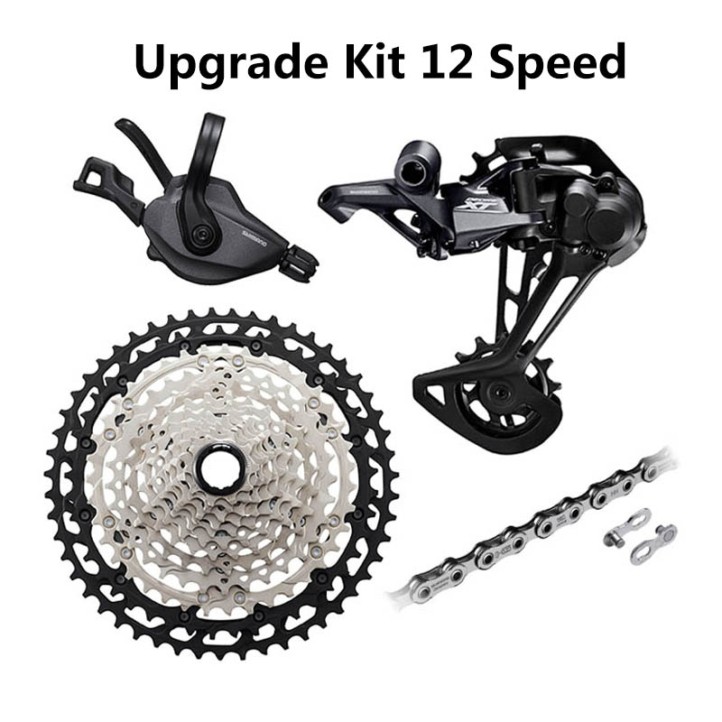 12 Speed Groupset DEORE XT M8100 Groupset MTB Mountain Bike 1x12-Speed Shifter Lever Rear Derailleur 51T Cassette 12-Speed Chain image