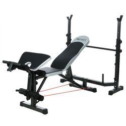 Banco de pesas profesional, Banco de pesas, Banco de gimnasio multifuncional, estante de Banco smith, soporte de barra, juego deportivo