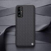 NILLKIN-funda de fibra de nailon texturizada para Huawei Honor 30 Pro, fina y ligera cubierta trasera, antideslizante, duradera