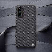 Pour Huawei Honor 30 étui NILLKIN texturé Nylon fibre étui durable antidérapant mince et léger couverture arrière pour Huawei Honor 30 Pro