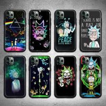 Cute cartoon Ricks Mortys Phone Case for iphone 12 pro max 11 pro XS MAX 8 7 6 6S Plus X 5S SE 2020 XR case