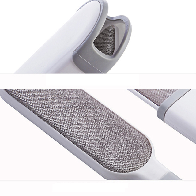 Dog/cat  reusable double-sided hair removal brush  for clothes and furniture