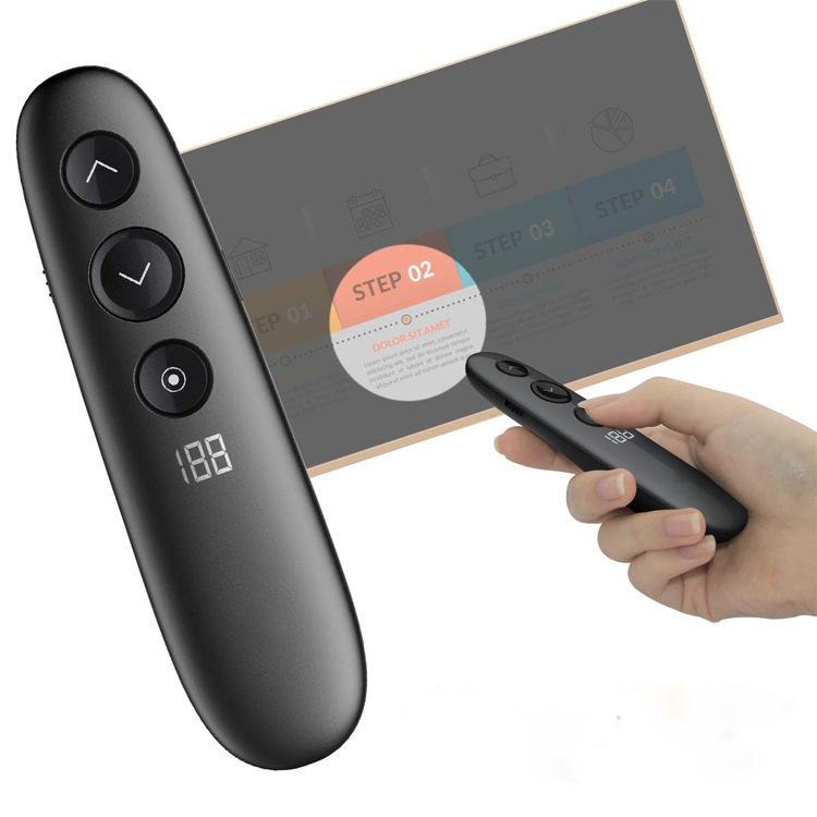 Wireless Powerpoint Presentation USB Remote Control Clicker Wireless Flying Mouse