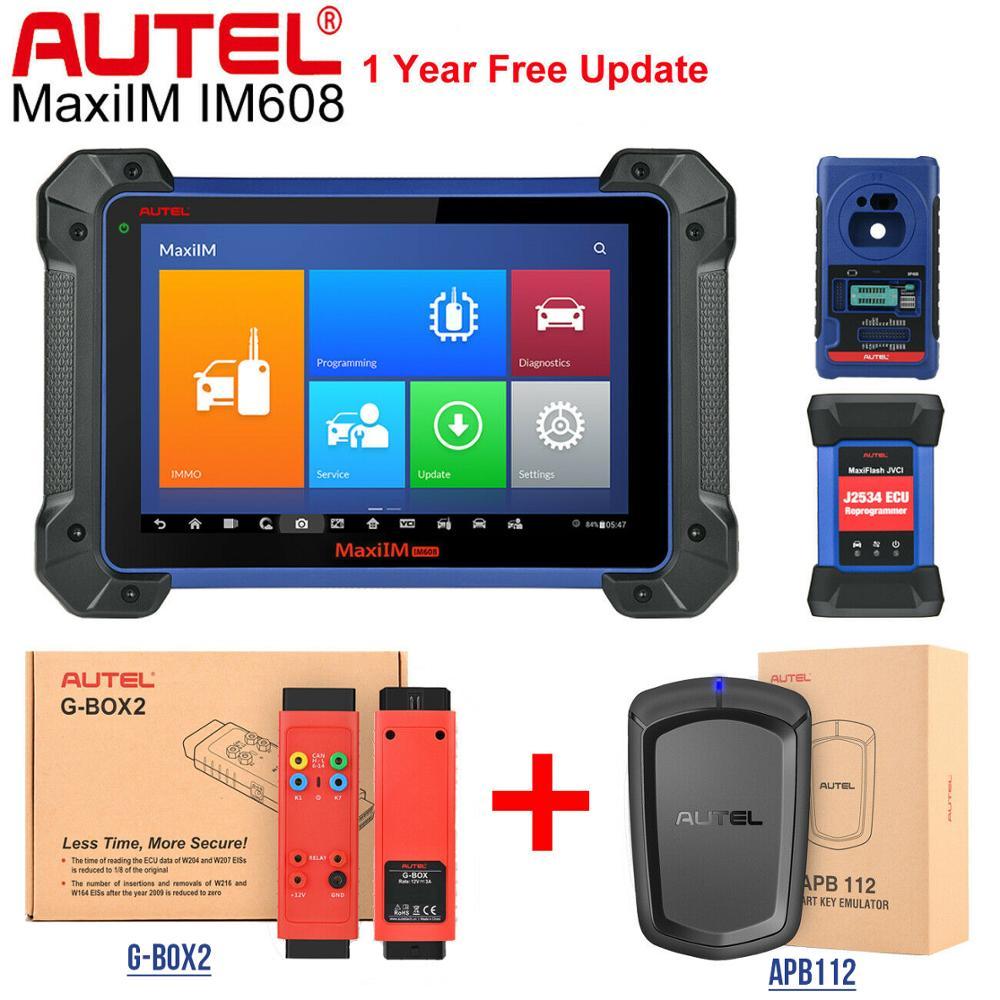 Autel IM608 XP400 Key Programmer Car Diagnostic MaxiFlash ECU Programmer All Systems Diagnostic auto Batter Than launch x431 pro|Auto Key Programmers| - AliExpress