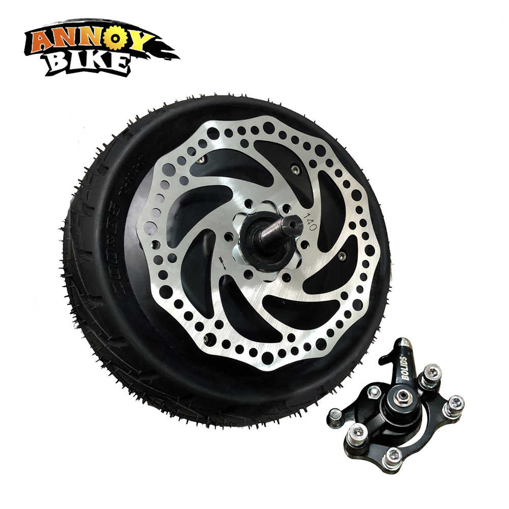 48V 1000W 8 Cal elektryczny rower skuter silnik Fat Tire 200*81 8''wheel bezszczotkowy bezzębny piasta silnik E rower silnik koła silnik