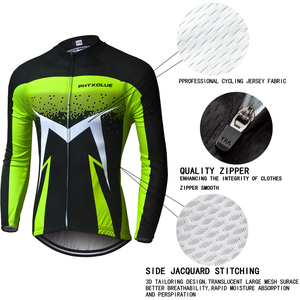 Image 5 - Phtxolue Breathable Long Sleeve Cycling Set Mountain Bike Clothing Autumn Bicycle Jerseys Clothes Maillot Ropa Ciclismo