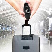 Цифровой электронный Чемодан весы ЖК-дисплей Дисплей переносной штатив для взвешивания Чемодан весы Вес весы карманные весы 100g/40 кг 88Lb