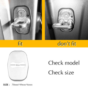 Image 5 - Car Door Lock Covers Protection Stainless Steel Styling Accessories For DS Spirit DS3 DS4 DS4S DS5 DS5LS DS6 DS7