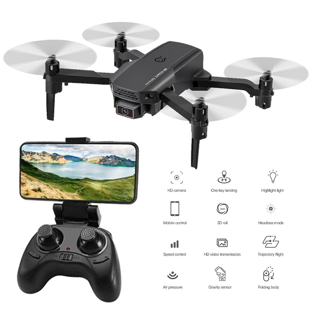 Mini Folding Drone 4K 110° Wide Angle Camera Live Video RC Quadcopter with Altitude Hold for Kids and Adults