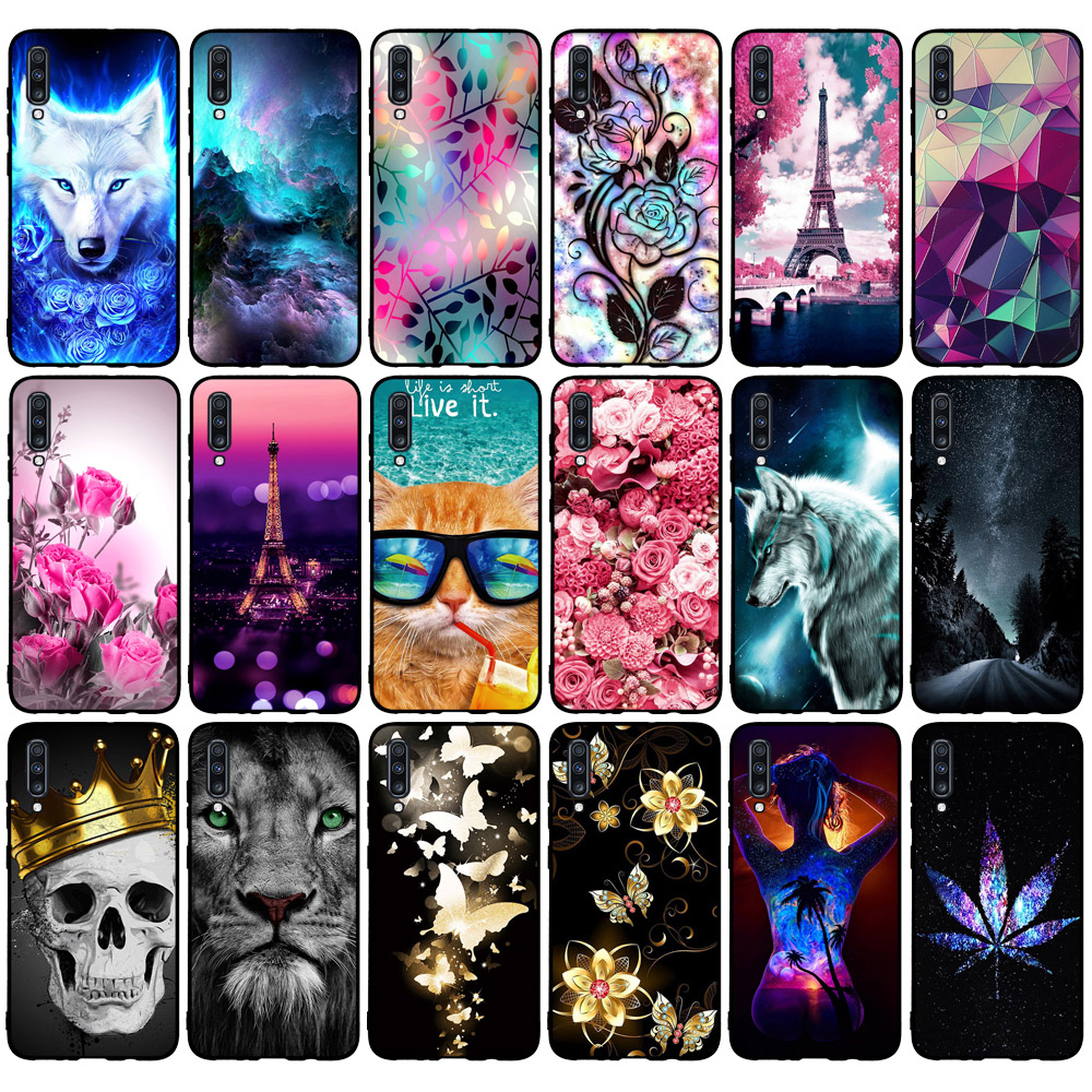 Case For <font><b>Coque</b></font> <font><b>Samsung</b></font> Galaxy <font><b>A70</b></font> <font><b>2019</b></font> Case TPU Soft Silicon Back Cover For Fundas <font><b>Samsung</b></font> Galaxy <font><b>A70</b></font> Case A 70 A705 A705F Shell image