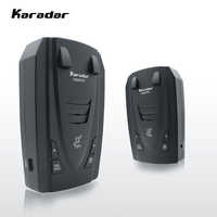 Karadar G820STR Rivelatori Radar Led 2 in 1 Rivelatore Del Radar per la Russia con il GPS Car Anti Radar Della Polizia di Velocità Auto X CT K La
