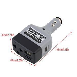 DC 12/24V to AC 220V USB 6V Ca