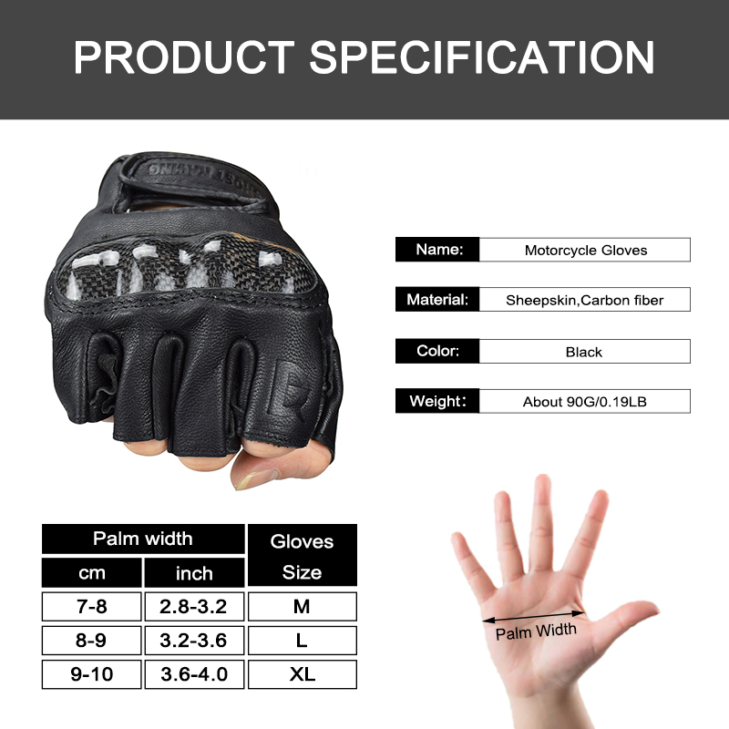 Image 5 - WOSAWE Touch Screen Sports Motorcycle Gloves Men PU Leather Windproof Wearable Non slip Off Road MTB Motocross Gloves-in Gloves from Automobiles & Motorcycles