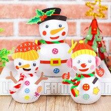 Educational-Toys Christmas-Snowman Kindergarten Creative Children Holiday-Decoration