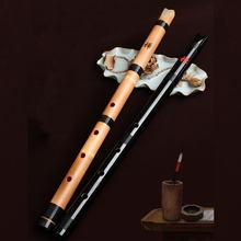 Ancien tuyau de musique professionnel flûte japonaise dizi shakuhachi mâle femelle instruments de musique