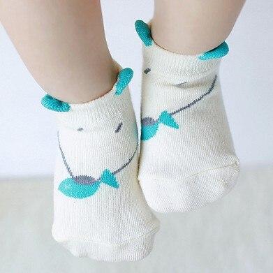 South Korea Stereo Cat Infants Children Cute No-show Socks Cartoon Cotton Socks Anti-slip Dispensing Baby Floor Socks