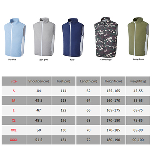Image 5 - New USB Fan Cooling Hiking Vest Fishing Cycling Vest Air Conditioning Work Outdoors Quick Cooling Vest Summer Cooling Men/women