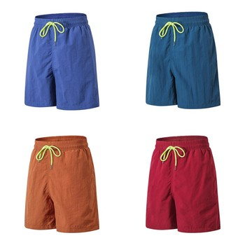 Mens Summer Outdoor Beach Party Sports Casual Pants Fitness Running Loose Quick Dry Shorts шорты мужские