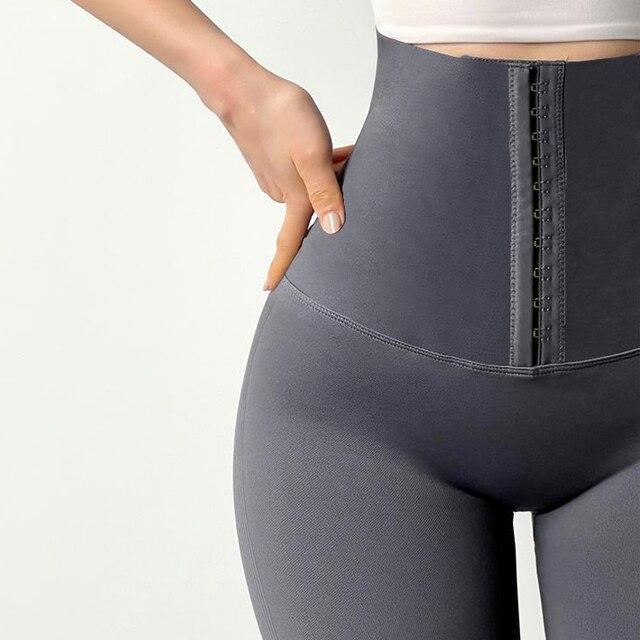 CHRLEISURE Biker Shorts Women High Waist Summer Short Sport Femme Running Workout Push Up Fitness Fashion Shorts 4