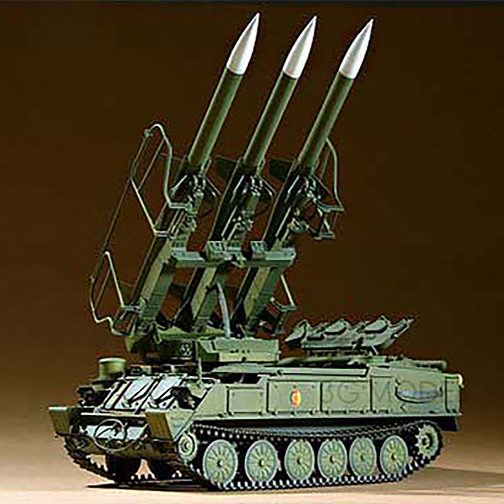 1:35 Military Educational Tank Toys Kid Gift Simulation Training Durable <font><b>Trumpeter</b></font> Antiaircraft Missile Model Kit Russian DIY image