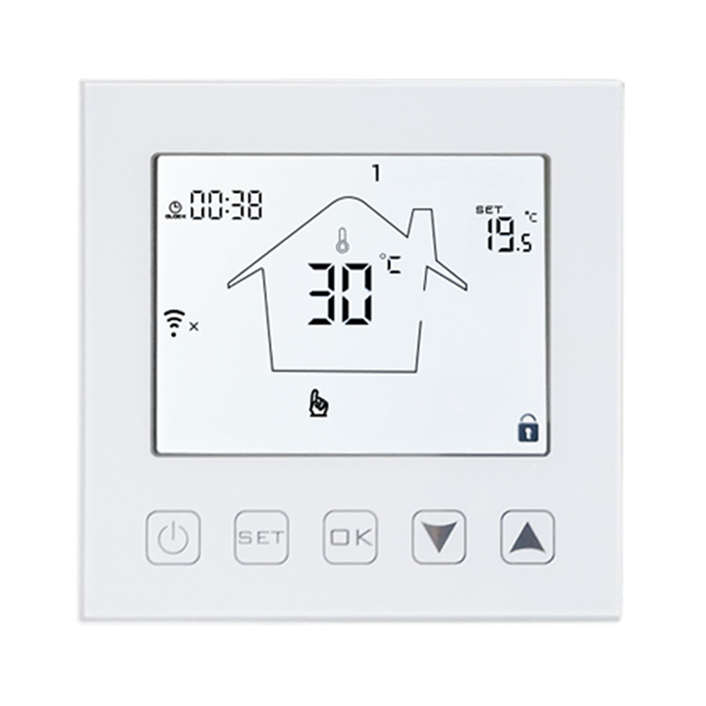 16A WIFI Thermostat Smart Room Thermostat Electric Floor Heating Temperature Controller Voice Works With Alexa Google Home Tuya
